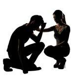 Confort de couples Image libre de droits