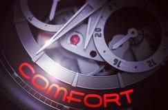 Confort sur le mécanisme de montre de mode 3d Photos libres de droits