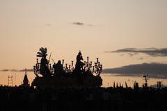 Confrérie de l'étoile, semaine sainte en Séville Image libre de droits
