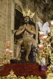 Confrérie de l'étoile, semaine sainte en Séville Photos stock