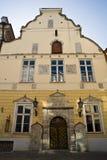 Confrérie de la maison Tallinn de points noirs Photo stock