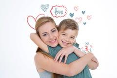 Confrérie et amour photo libre de droits