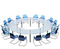Confrence Tabelle Lizenzfreies Stockfoto