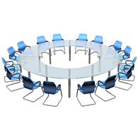Confrence Table Royalty Free Stock Photo