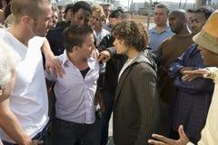 Confrontatie tussen Mensen Stock Fotografie