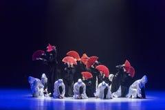 """confrontation entre le  de shelter†de dance""""No de raison et de ` s de désir-Huang Mingliang Image libre de droits"""