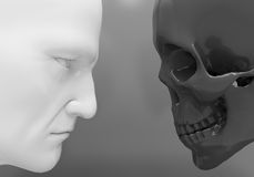Confrontation. Life and death Stock Image