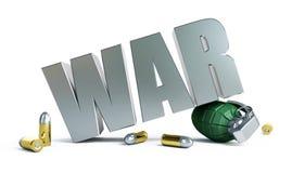 Confrontation militaire dans le monde Images libres de droits