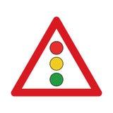 Confronto sui semafori Immagini Stock