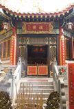 Confuciaans Onsterfelijk Wong Prayer Kau CIM Insence van Hall Sik Sik Yuen Wong Tai Sin Temple Religion Great Stock Foto's