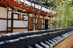 Confucian academy building, Korea Royalty Free Stock Images