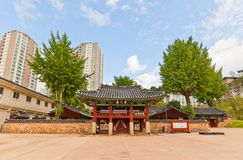 Confucian shrine-school Dongnae Hyanggyo in Busan, Korea Stock Photo