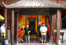 Confucian temple in guilin, china Royalty Free Stock Photography