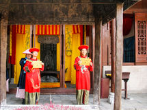 Confucian temple in guilin, china Royalty Free Stock Photo