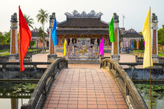 Confucian Temple Hoi An Royalty Free Stock Photo