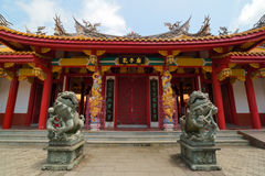 Confucian Temple in Nagasaki, Japan Royalty Free Stock Photography