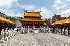 Confucian Temple in Nagasaki, Japan Royalty Free Stock Photos
