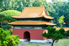 The Confucian temple Royalty Free Stock Images