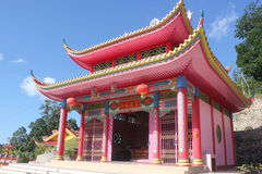 A Confucianism temple Royalty Free Stock Images