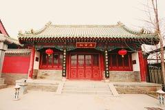 Confucious& x27; tempel i Zhengzhou arkivbilder
