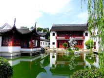 Confucious temple buildings Stock Photos