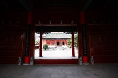 Confucious& x27;temple in Zhengzhou. Was the oldest and most extensive and largest ancient architectural complex in Zhengzhou. According to the chronicles of royalty free stock photos