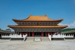 Confucius świątynia w Kaohsiung, Tajwan obrazy stock