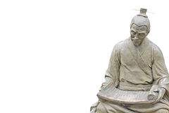 Confucius. An ancient statue of Confucius.Confucius is the ancient Chinese thinker, educator Stock Images