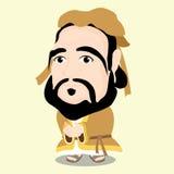 Confucius charakter Fotografia Royalty Free