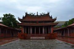 Confucius - Chińska świątynia obrazy royalty free