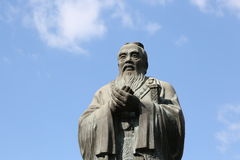 Confucius china saint Confucian Ancestral temple Royalty Free Stock Photos