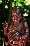 Confucius in het maanlicht Stock Afbeelding
