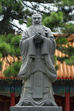 Confucius statue Royalty Free Stock Photos