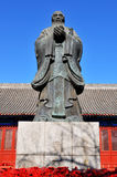 Confucius statue Stock Photography
