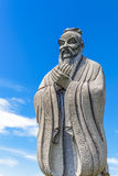 Confucius statue. In Chinese Gardens Singapore Royalty Free Stock Image