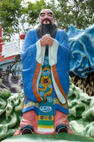 Confucius statue at Haw Par Villa in Singapore. Royalty Free Stock Images
