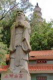 confucius staty Royaltyfri Bild