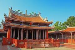 confucius tainan tempel Fotografering för Bildbyråer