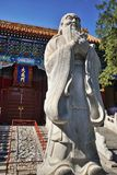 Confucius Temple Beijing Main Gate stock image