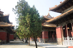 Confucius Temple buildings in Qufu Stock Photos