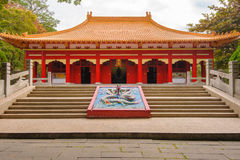 Confucius Temple in Chiayi, Taiwan Stock Images