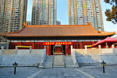 Confucius Temple in modern Tianjin Stock Photography