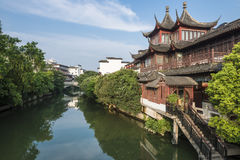 Confucius temple in Nanjing, China Stock Photography