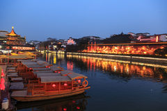 Confucius Temple Night Stock Photography