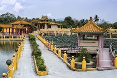 Seen Hock Yeen, Confucius Temple, Chemor, Malaysia. Confucius Temple of Seen Hock Yeen is well-known for bringing luck to students who are going to sit for exams royalty free stock photo