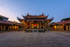 Confucius Temple in Taipei, Taiwan Stock Photo