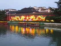 Confucius świątyni smok Zdjęcie Stock