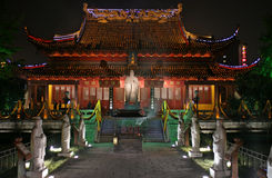 Confucuis temple. In Nanjing China Stock Images