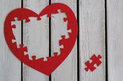 Confunda Heart Imagem de Stock