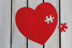 Confunda Heart Imagens de Stock Royalty Free